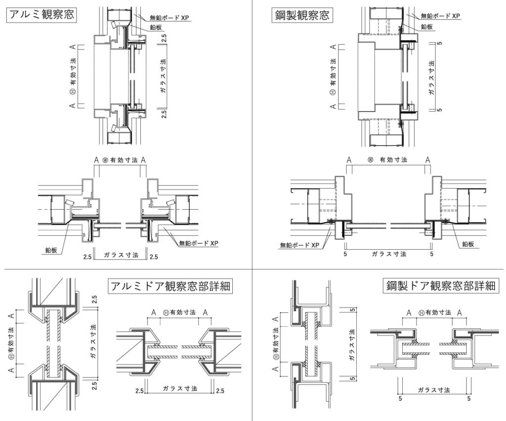 ホーシャット含鉛ガラスGS参考図